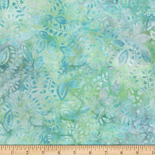 nfetti Leaves Cream/Gray Fabric By The Yard (Confetti Batik)