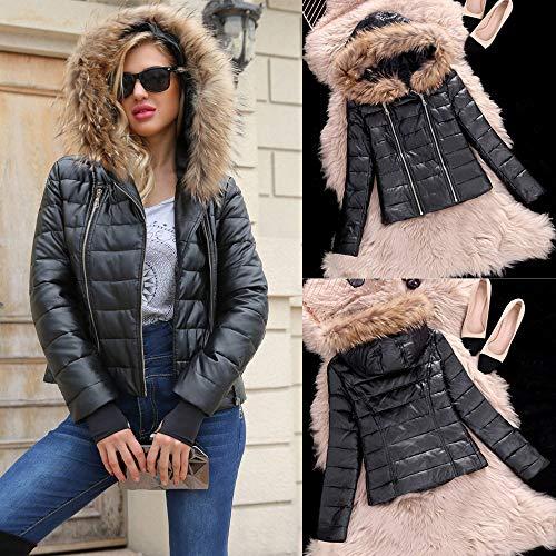 Damen Winter damen Jacke Jacken Kurz RosaSweatshirts WIYHED29
