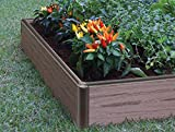 Raised Garden Bed - Outdoor Garden or Patio for