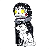 John Snow - Game of Thrones Inspired Calavera Die Cut Clear Vinyl Sticker Sugar Skull - Day of the Dead - Weather Proof Decal