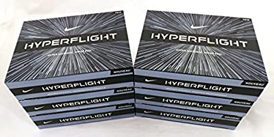 NIKE 6 Dozen New Hyperflight Golf Balls 72 Total White Distance + Feel 2015