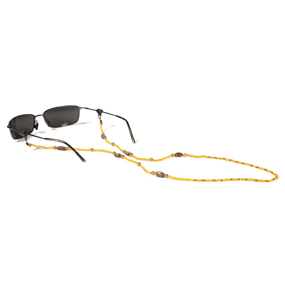 Croakies Stone Eyewear Retainer, Spec Ends, Citrine WC1STONECHT