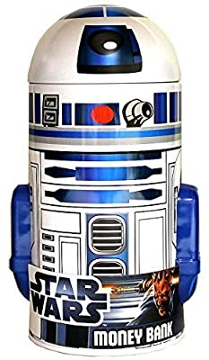 Star Wars R2-D2 Shaped Tin Bank