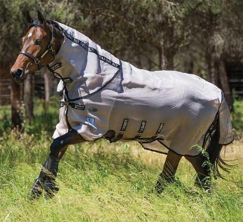 Horseware Rambo Fly Buster Vamoose No-Fly Zone 63 by Rambo Blankets