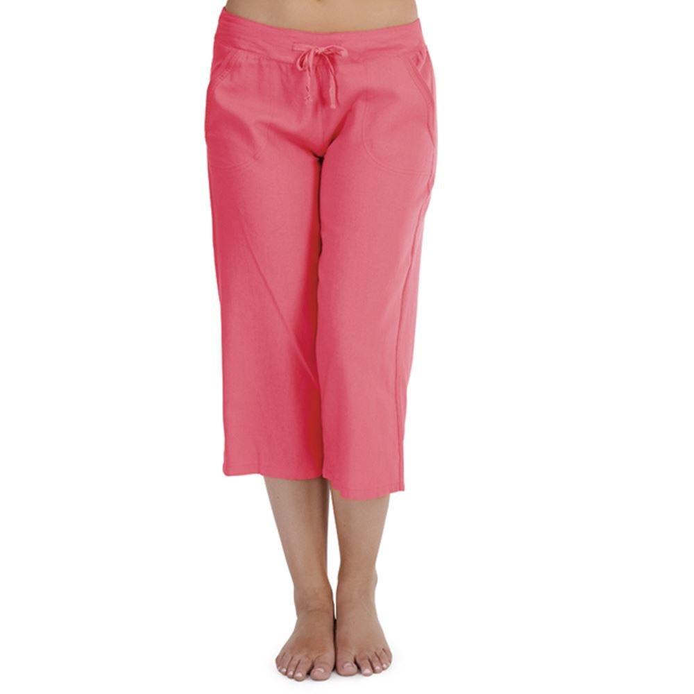 Mujer Indigo Roc 3/4 Longitud Pierna Pierna LN581B Pantalones