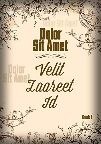 Dolor Sit Amet (Book 1) - Velit Laoreet Id