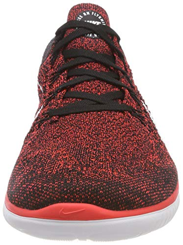 Uomo Running 602 Nike 2018 Crimson Black Multicolore Bright Laufschuh White Free Flyknit da Scarpe Run 6wp8RZq