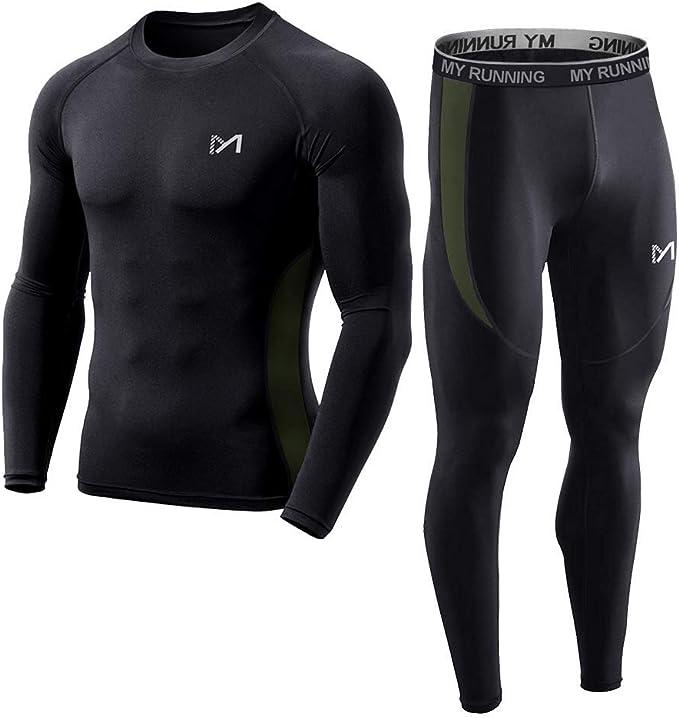 Amazon.com: Conjunto de ropa interior de capa base para ...