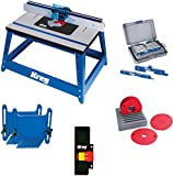 Kreg PRS2100 Bench Top Router Table with Essential Accessories