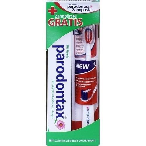 Paro dontax con Fluoruro Pasta de dientes cepillo de dientes + 75 ml Pasta de dientes: Amazon.es: Salud y cuidado personal