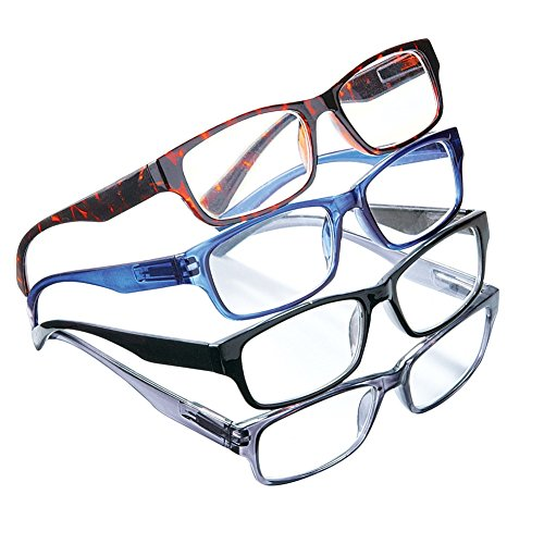 Classic Reading Glasses Multicolored 2 5X