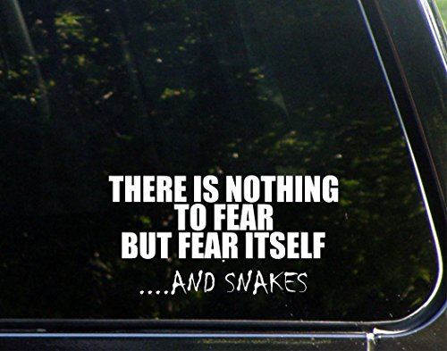 There Is Nothing To Fear But Fear Itself...And Snakes - 7 1/4