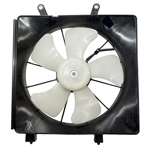 Denso Type Radiator Cooling Fan Assembly Replacement for 2001-2005 Honda Civic 19030-PLC-003 AutoAndArt