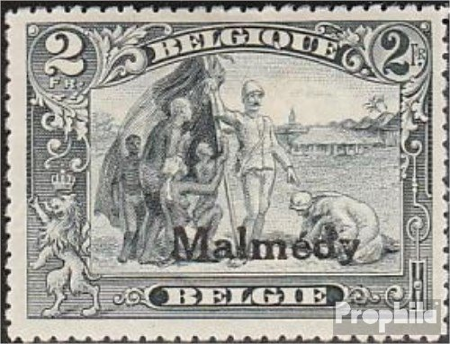 Prophila Collection Belgische Post Malmedy 12A 1920 Albert I. (Briefmarken für Sammler)