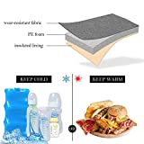 Yarwo Breast Milk Cooler Bag with Ice Pack for 6