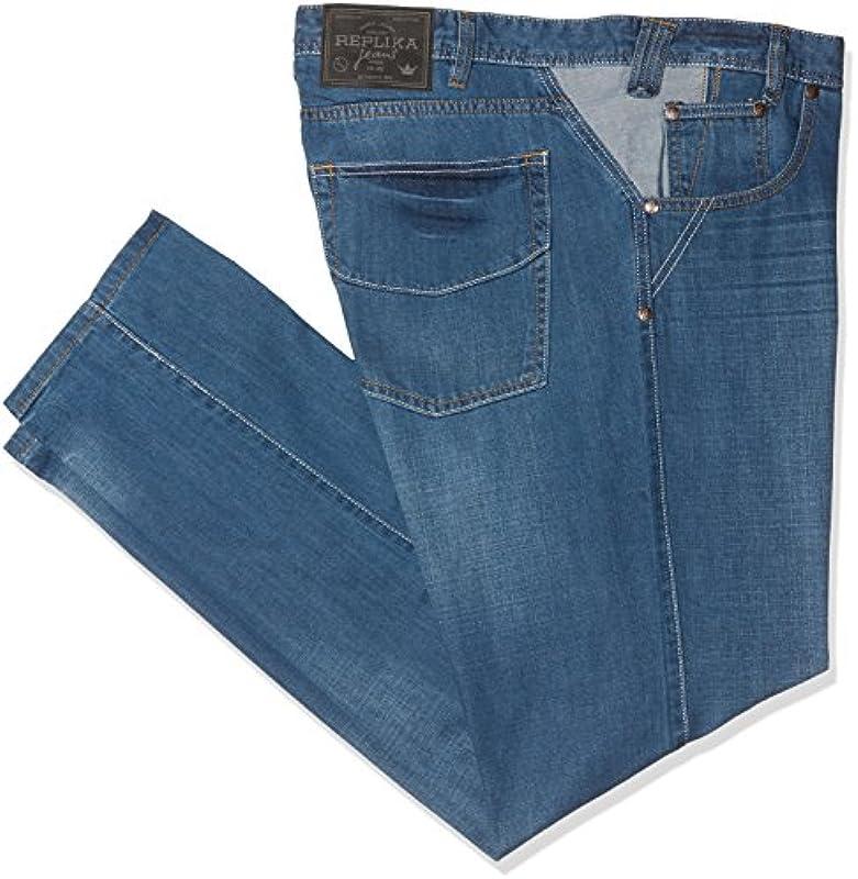 Replika jeansÓw męskich luźne Fit dżinsy: Odzież