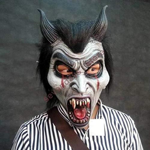 Halloween Mask Demon Parasite Zombie mask Latex Accoutrements Michael Myers Vampire Skull party Halloween scary terror masks horror mascaras latex realista]()