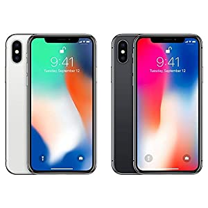Apple iPhone X, GSM Unlocked 5.8""