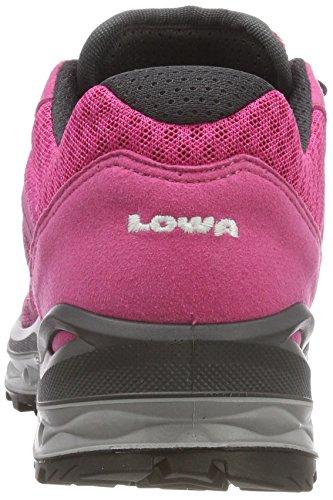 3112 Eisblau Schwarz Lowa de Randonnée Chaussures 5 GTX 4 Hautes Argento WS Lo Bacca Aerox Femme UK Multicolore wTqvB