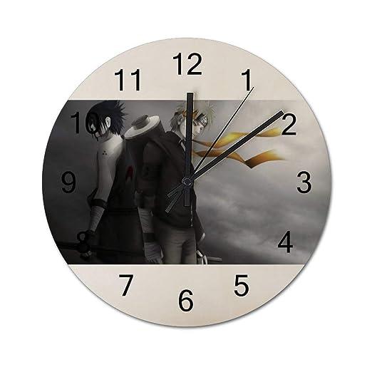 GDYS Simplicidad Reloj de Madera DIY Reloj de Pared Ninja 30 ...