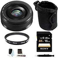 Panasonic Lumix G H-H020AK 20mm F/1.7 II ASPH Lens for Panasonic/Olympus Micr...