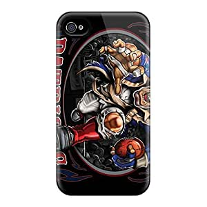 Great Hard Cell-phone Case For Iphone 4/4s With Custom Stylish New England Patriots Pattern JasonPelletier hjbrhga1544