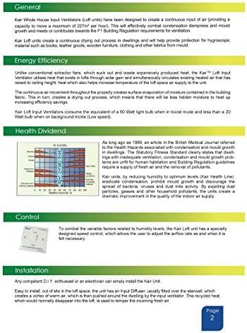Ventilador para vivienda (presión positiva): Amazon.es: Bricolaje ...