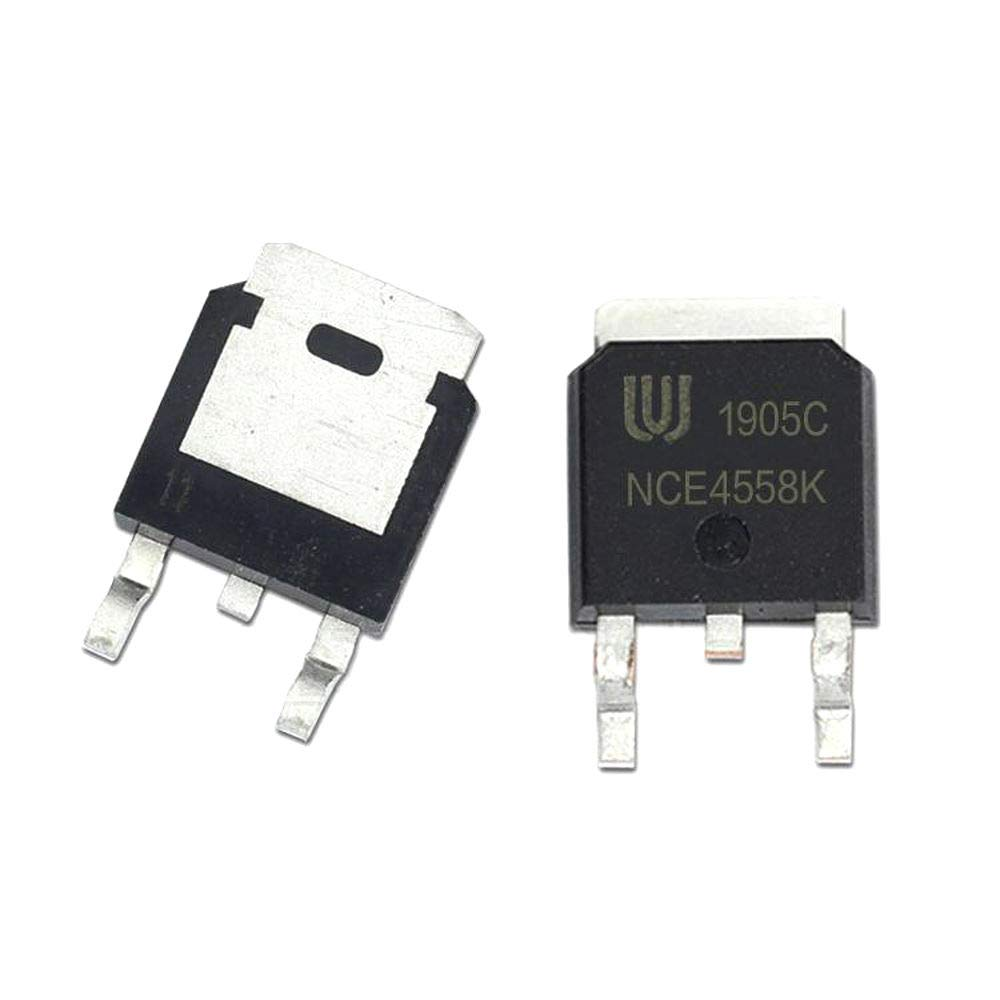 10Pcs//lot NCE4558K 4558K TO-252 45V 58A N-Channel Mosfet