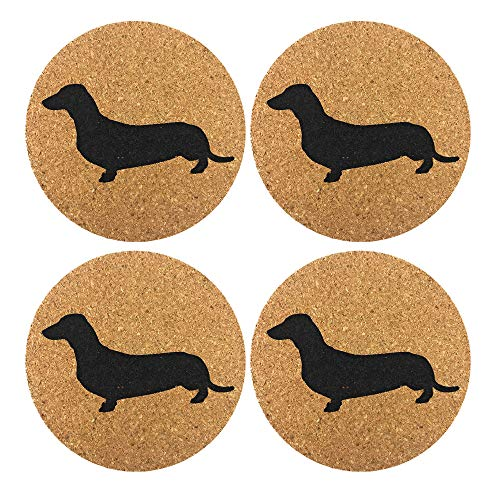 Dachshund Weiner Gift Drink Coasters product image