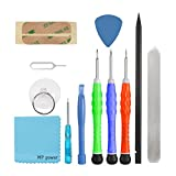 MP power 12 in 1 Repair Opening Pry Tool Kit Screwdriver Set for Cell Phone iPhone iPad iPod Samsung HTC LG Sony Android Smartphone