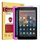 Fire HD 10 Glass Screen Protector, OMOTON Tempered Glass Screen Protector for Fire