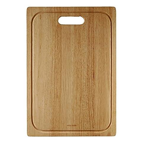 Houzer CB-4500 Endura Hardwood 20.25-Inch by 14 Inch Cutting Board - Finish Cutting Boards