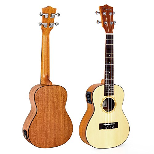 Electric Acoustic Concert Ukulele (UK-24B)
