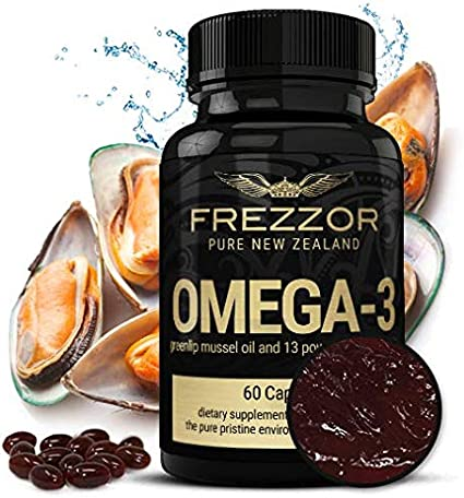 Amazon Com New Zealand Green Lipped Mussel Oil Capsules Joint