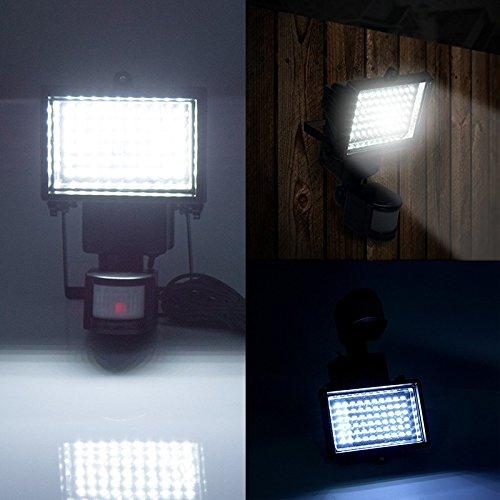 60 LED Solar Motion Light WSMY Adjustable TIME & LUX Lamp
