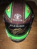 KYLE BUSCH Autograph Signed #18 M&M'S MINi HELMET JSA COA - Autographed NASCAR Helmets