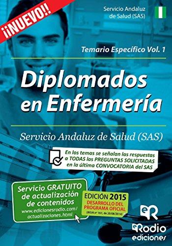 Diplomados en Enfermería del SAS. Temario Específico. Volumen 1 (Spanish Edition)