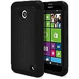 Nokia Lumia 635 Case, Nokia Lumia 630 Case, MagicMobile [Dual Armor Series] Durable [Impact Shockproof Resistant...