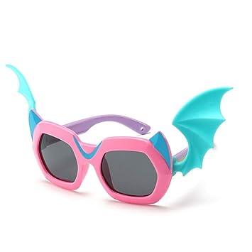 YSA Gafas de Sol para niños Gafas de Sol de Dibujos Animados ...