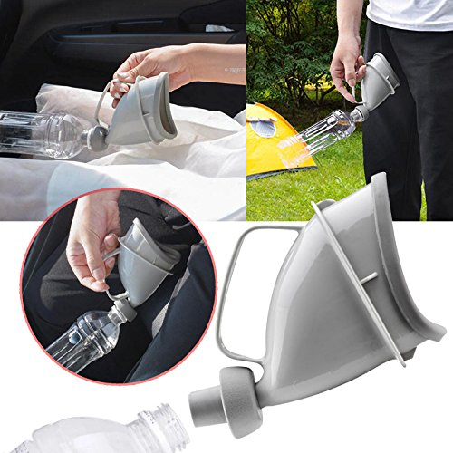 Hongfei Portable Adult Urinal Unisex Potty Pee Funnel Toilet for Portable Urinal Outdoor Car Travel Sedeta