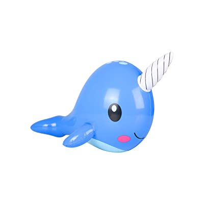 "24"" NARWHAL INFLATE: Toys & Games"