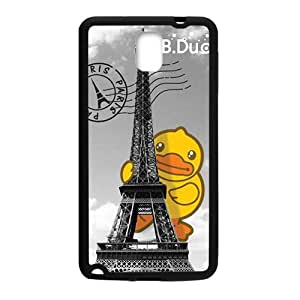 Eiffel Tower Lovely B.Duck fashion cell Cool for samsung galaxy note3