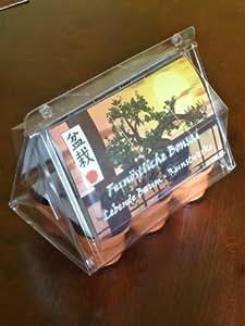 Mini-invernadero Bonsai extremo oriente con semillas de cereza, naranjas-jazmín y abanico de arce