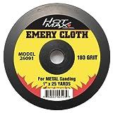Hot Max 26091 1-Inch by 25 Yards 180 Grit Emery Cloth