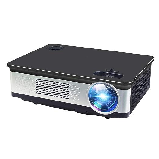John-L Proyector, Multimedia Proyector portátil LED 1080P Full HD ...