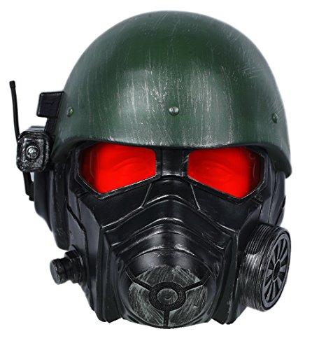 Xcoser Fallout 4 フォールアウト4 コスプレ マスク かっこいい 仮面 ヘルメット レンジャーヘルメット ゲームキャラ 樹脂製 変装 仮装 大人用 ハロウィン イベント パーティー コレクション Helmet