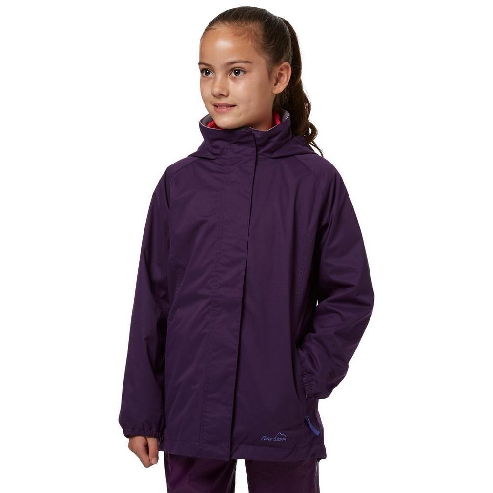 Peter Storm Lila Girls 'Wendy Ii Wasserdichte Jacke Outdoor Bekleidung, Purple, 5-6 Jahre