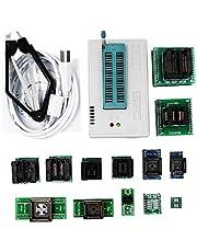 YF-CHEN Board Pro Tl866Ii Plus Programmer +13Adapters +Sop8 Clip 1.8V Nand Flash 24 93 25 Mcu Bios Eprom Avr Program Computer