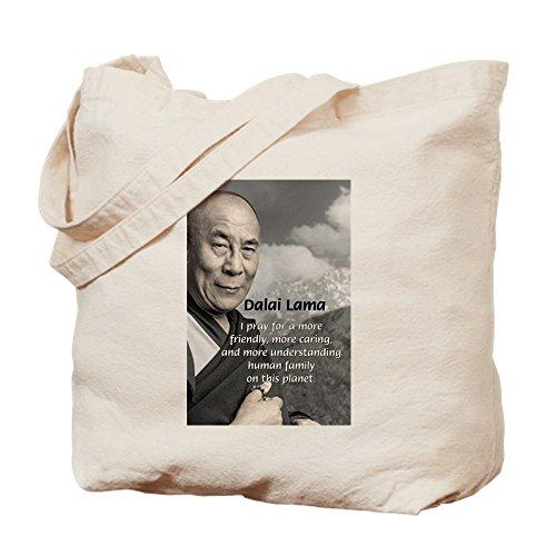 CafePress–la 14th Dalai Lama–Gamuza de bolsa de lona bolsa, bolsa de la compra Small caqui