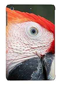 Case For Ipad Mini/mini 2 Tpu Phone Case Cover(red Macaw Face ) For Thanksgiving Day's Gift